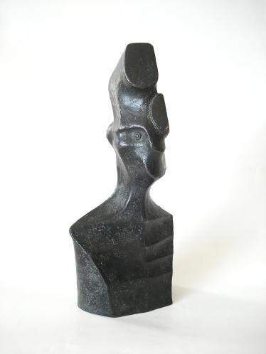 Unmasced C2, 18-12-6 cm, pronssi, 2004